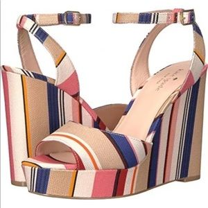 Kate spade New York dellie wedges sandals size 7